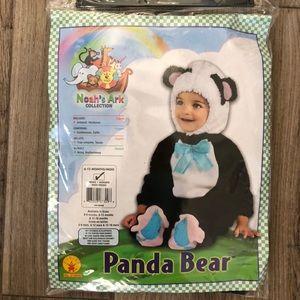 Baby panda costume